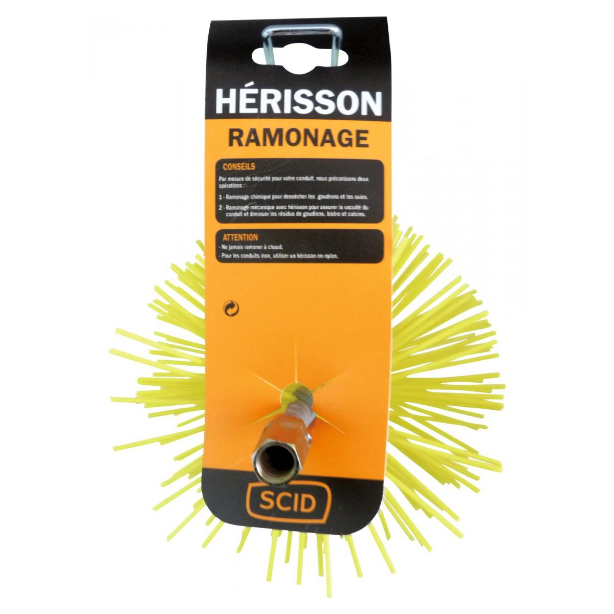 Hérisson nylon rond SCID - Diamètre 150 mm