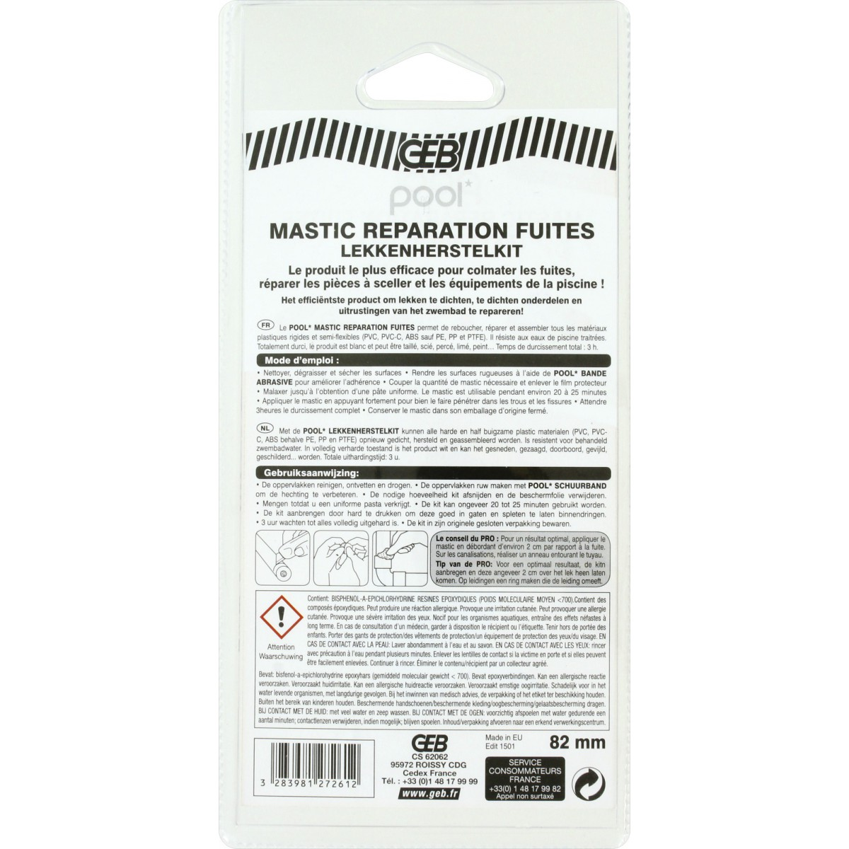 Réparation fuites Geb - 280 ml