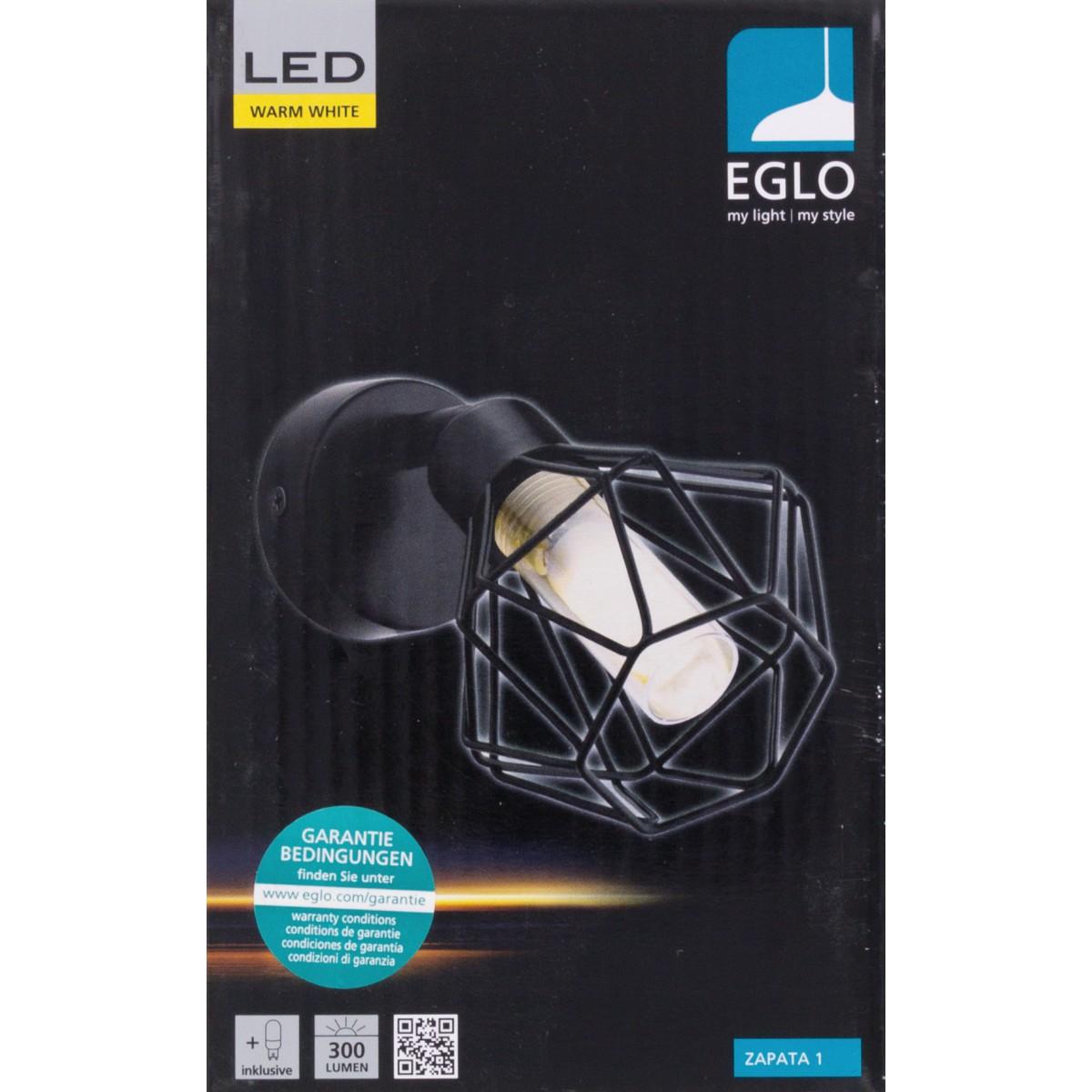 Spot Zapata 1 LED Eglo - Patère - 1 spot