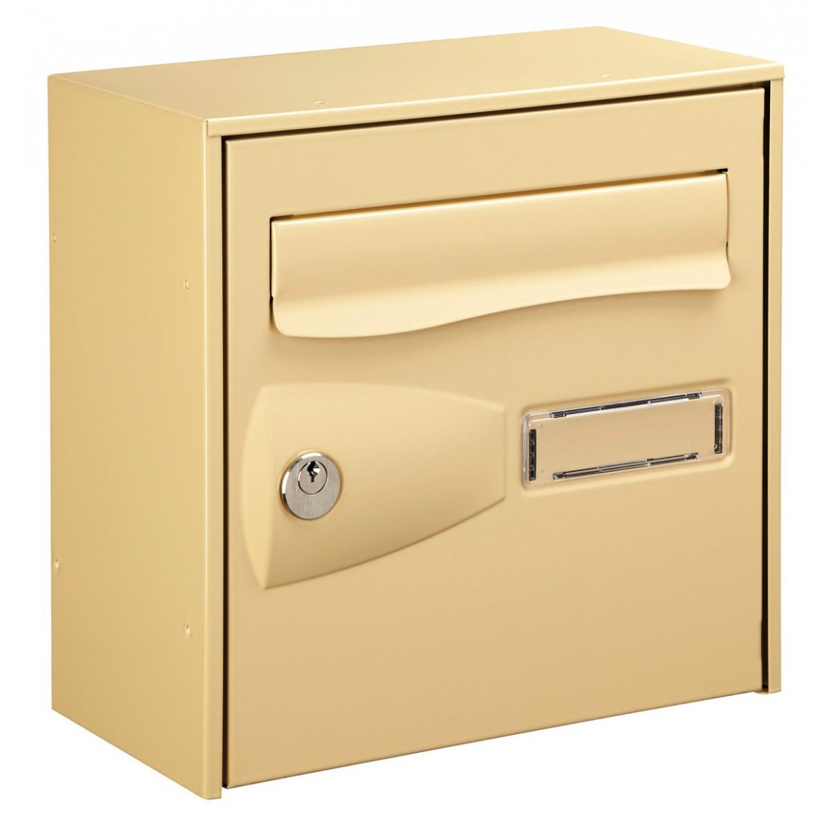 Boîte aux lettres Citadis Decayeux - Simple face - Beige