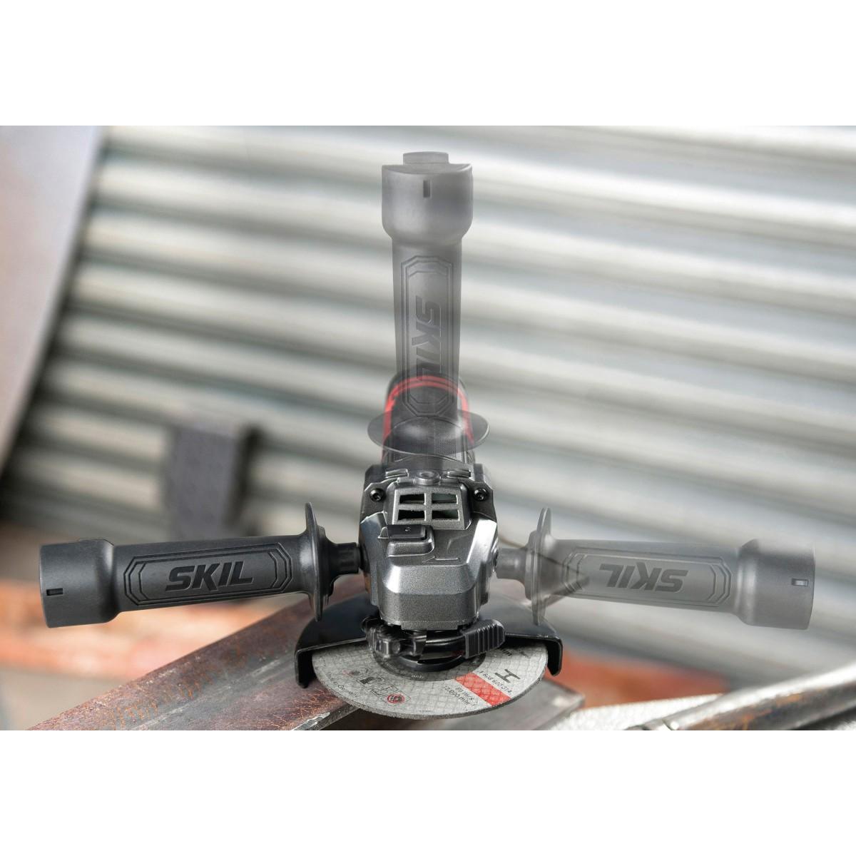 Meuleuse d'angle 9130 AA Skil - 720 W - Diamètre 115 mm