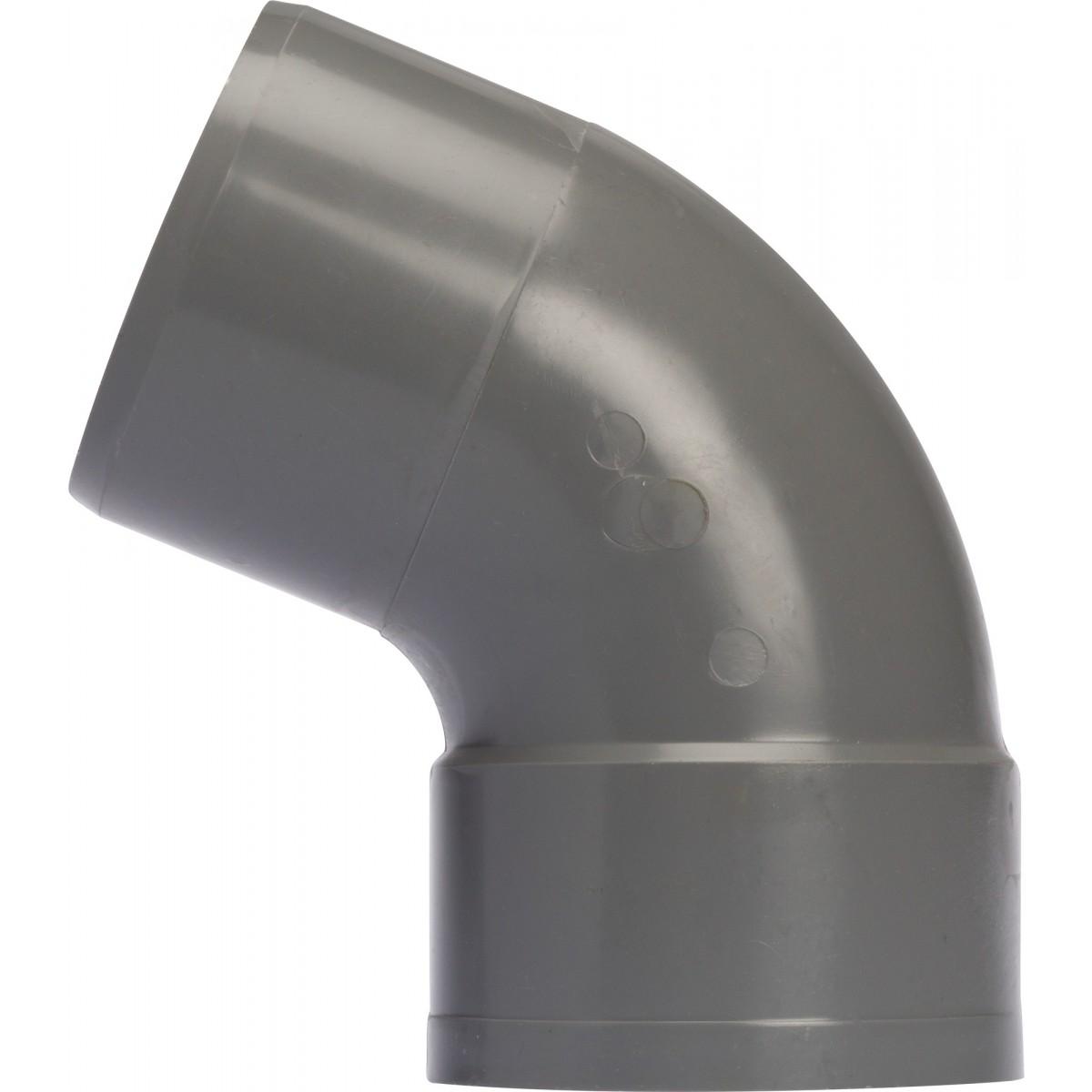Coude à 67°30 Mâle / Femelle Girpi - Diamètre 100 mm