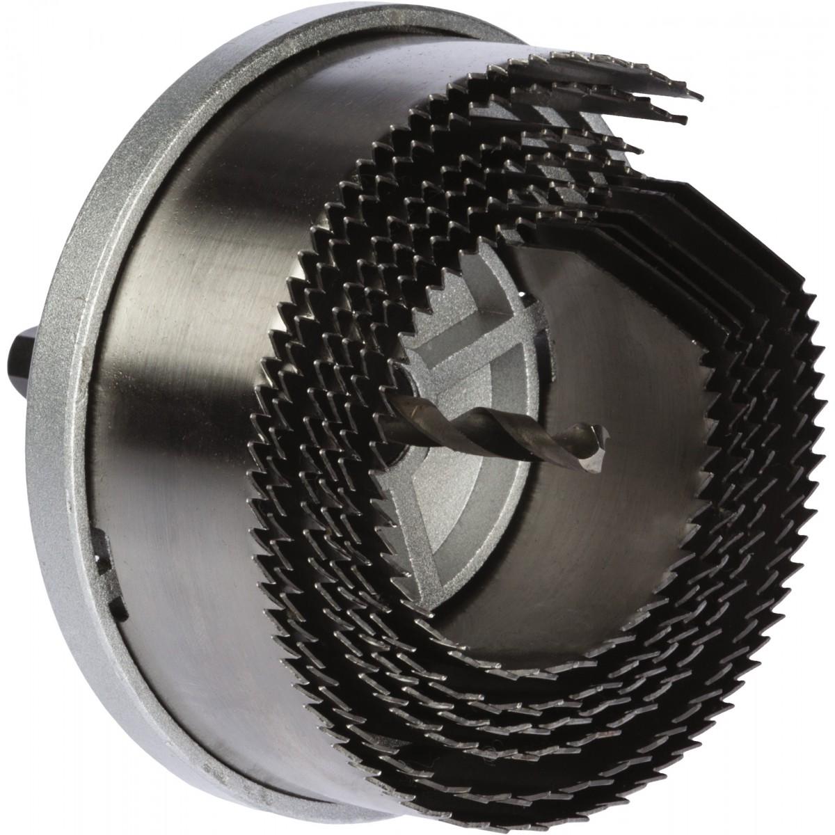 Scie cloche multilames acier SCID - Profondeur 38 mm - 5 lames
