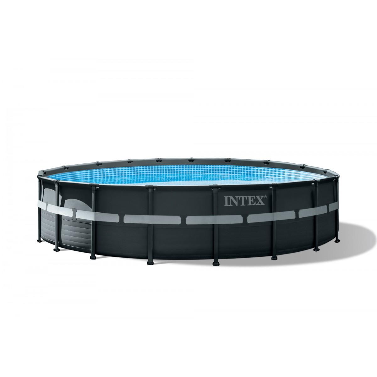 Piscine tubulaire ronde Ultra XTR Intex - Diamètre 549 cm - Hauteur 132 cm
