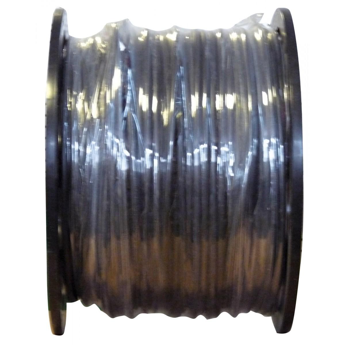 Câble U-1000 R2V noir mètré 1,5 mm² Dhome - Touret - Longueur 250 m