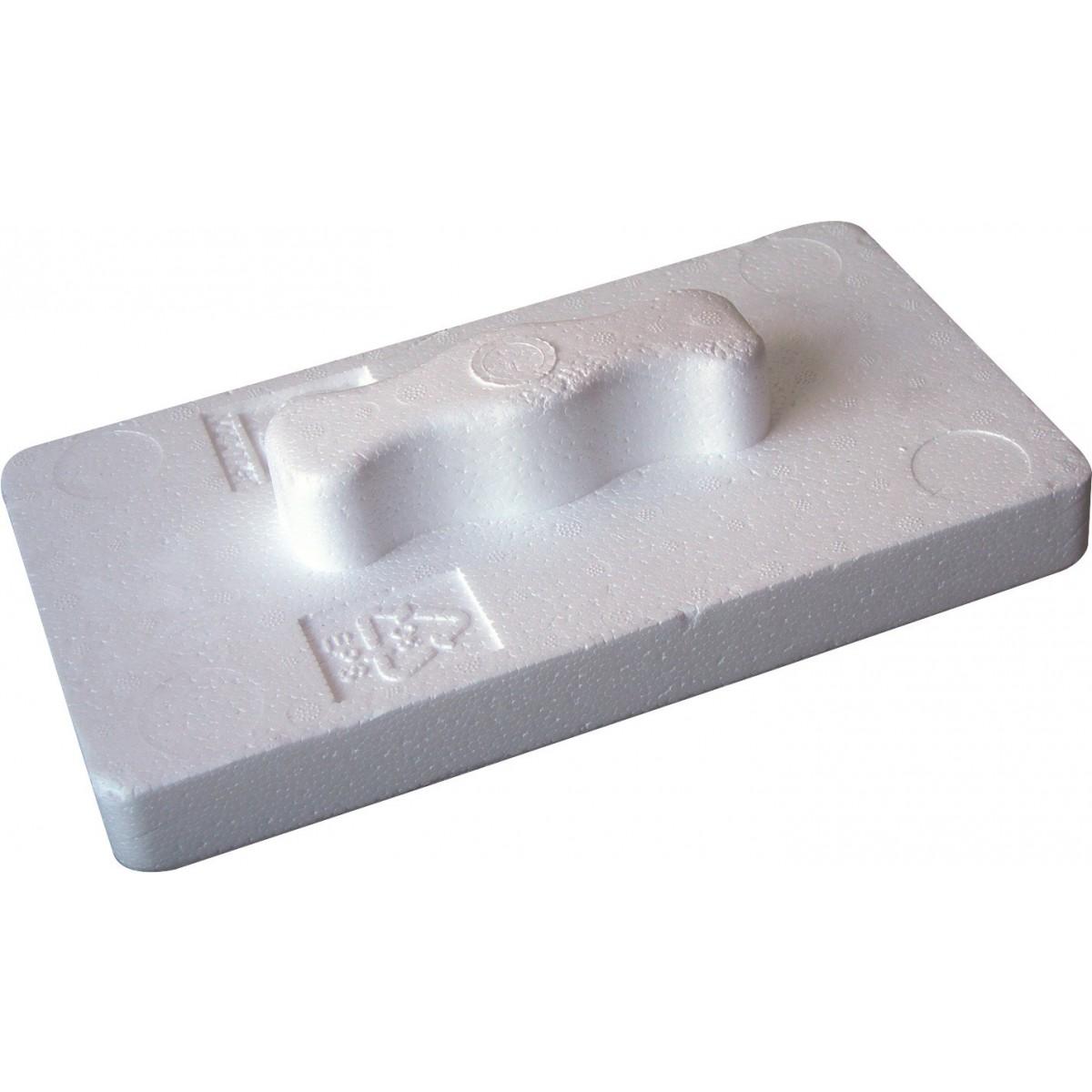 Taloche polystyrène expansé Outibat - Dimensions 20 x 15 cm