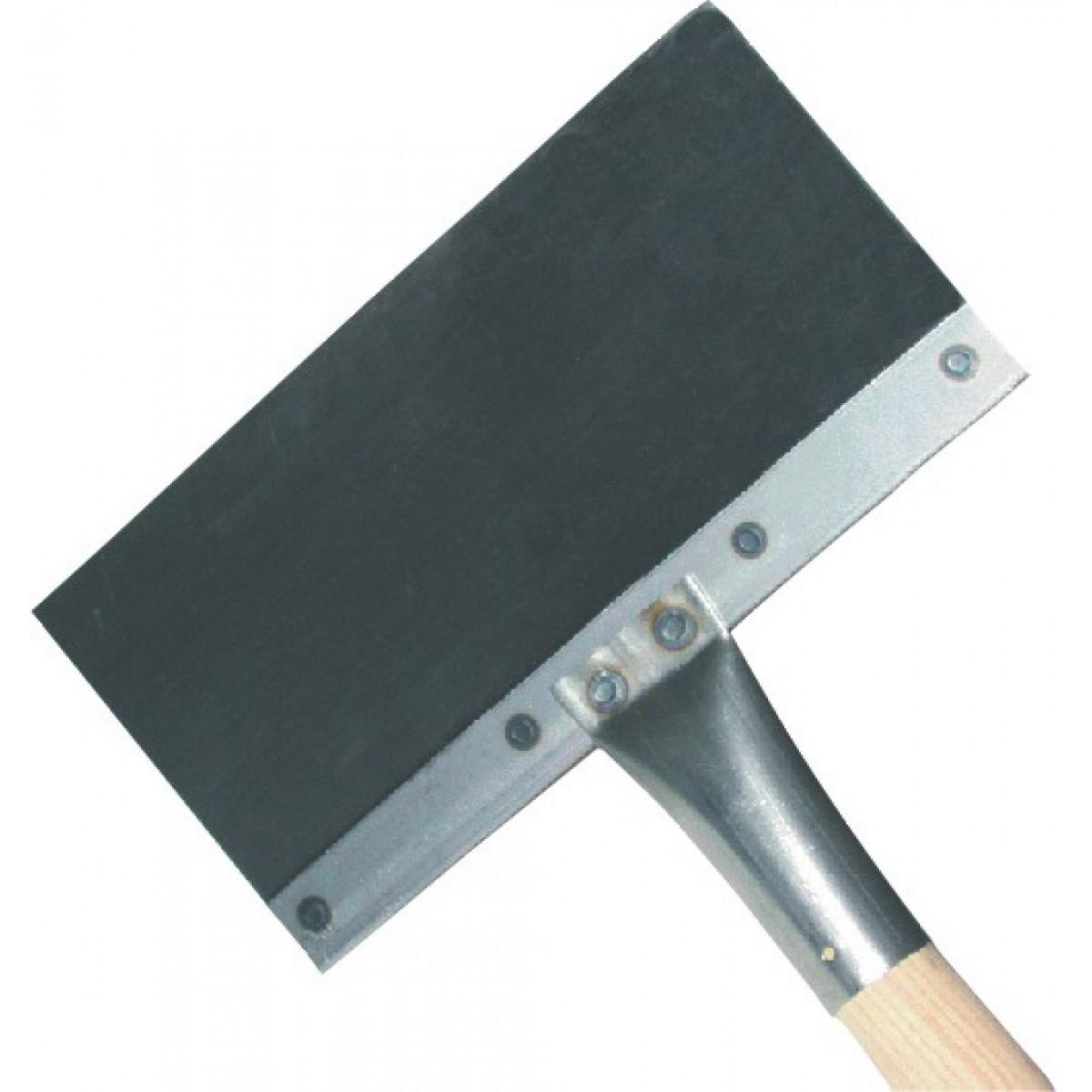 Racloir de coffreur Forges de Magne - Emmanché 1,10 m - Longueur 30 cm