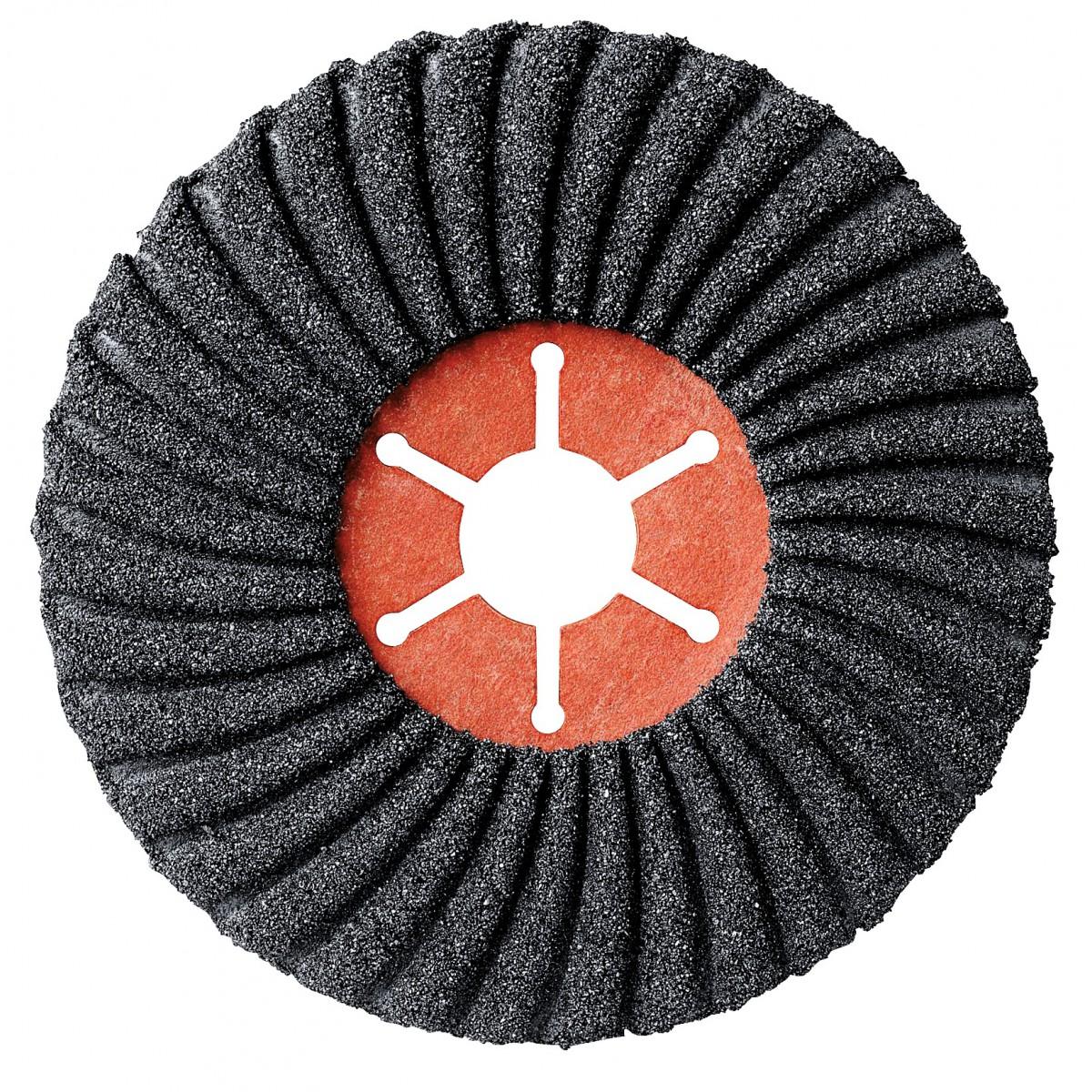 Disque semiflexible carbure de silicium diamètre 125 x 22 mm SCID - Grain 80