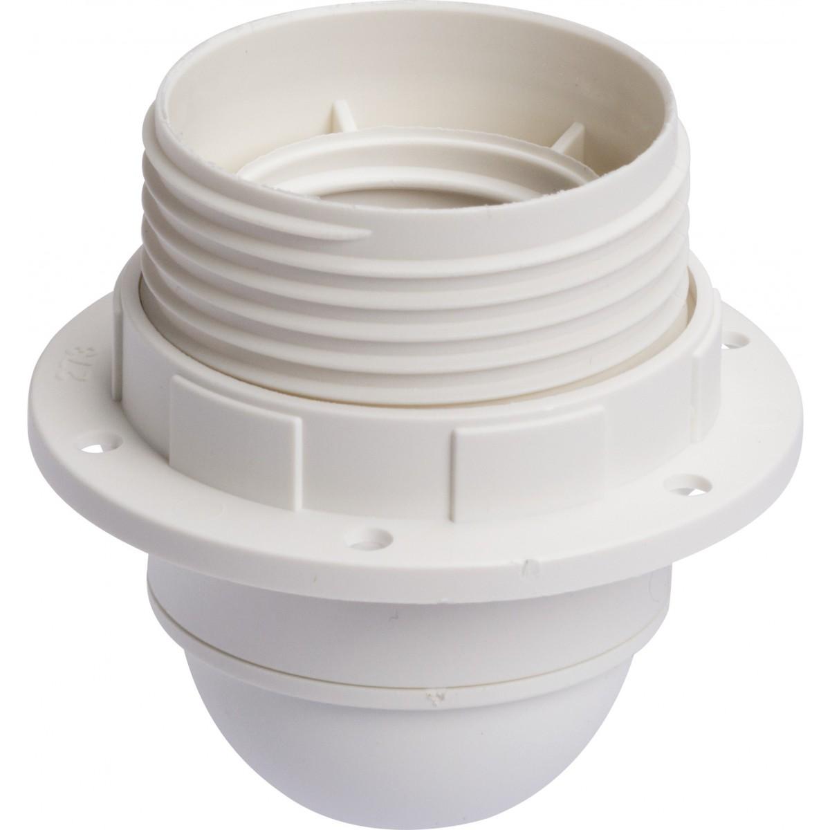Douille E27 plastique Legrand - Raccord diamètre 10 mm - Bague isolante