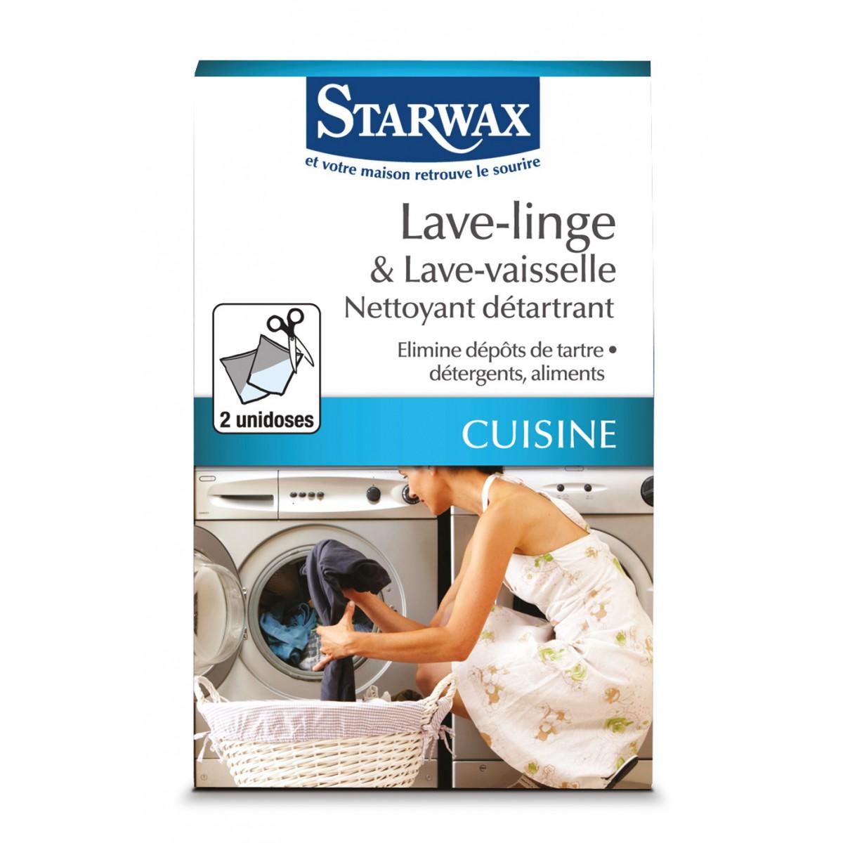 Nettoyant détartrant lave-linge & lave-vaisselle Starwax - 150 g