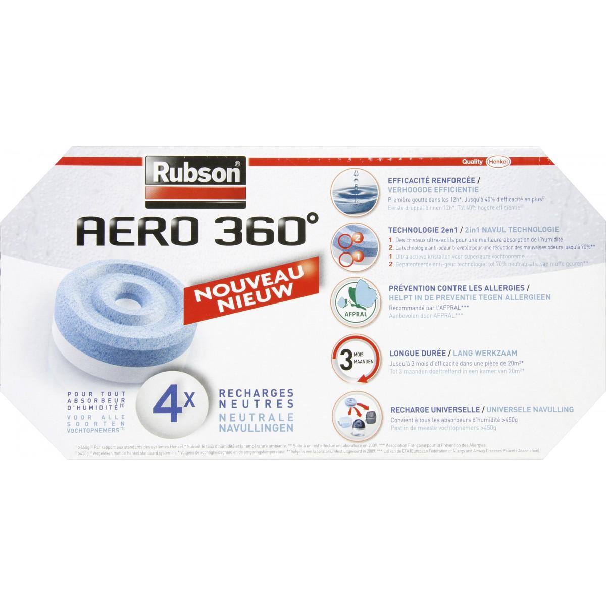 recharge power tab rubson vendu par 4 de recharge pour absorbeur d 39 humidit. Black Bedroom Furniture Sets. Home Design Ideas
