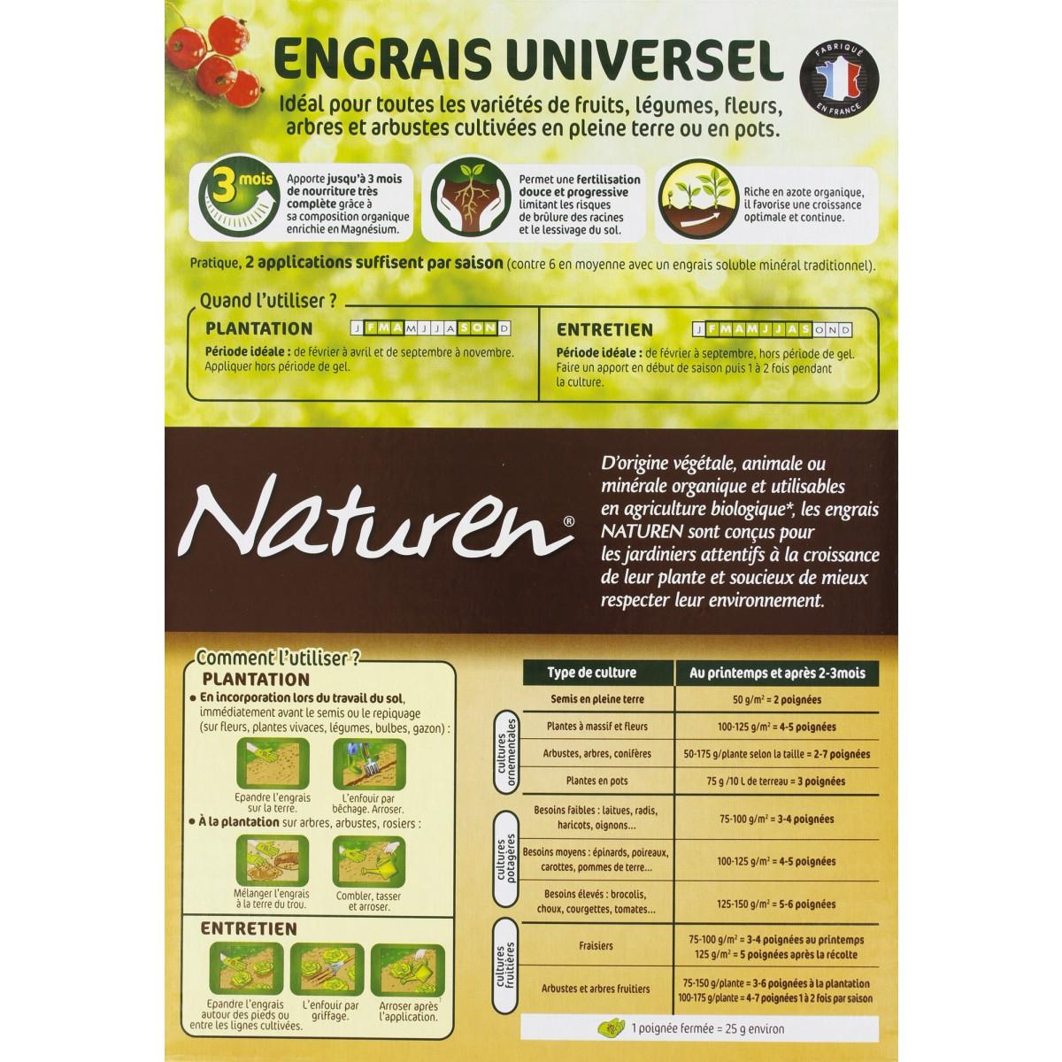 Engrais universel Naturen