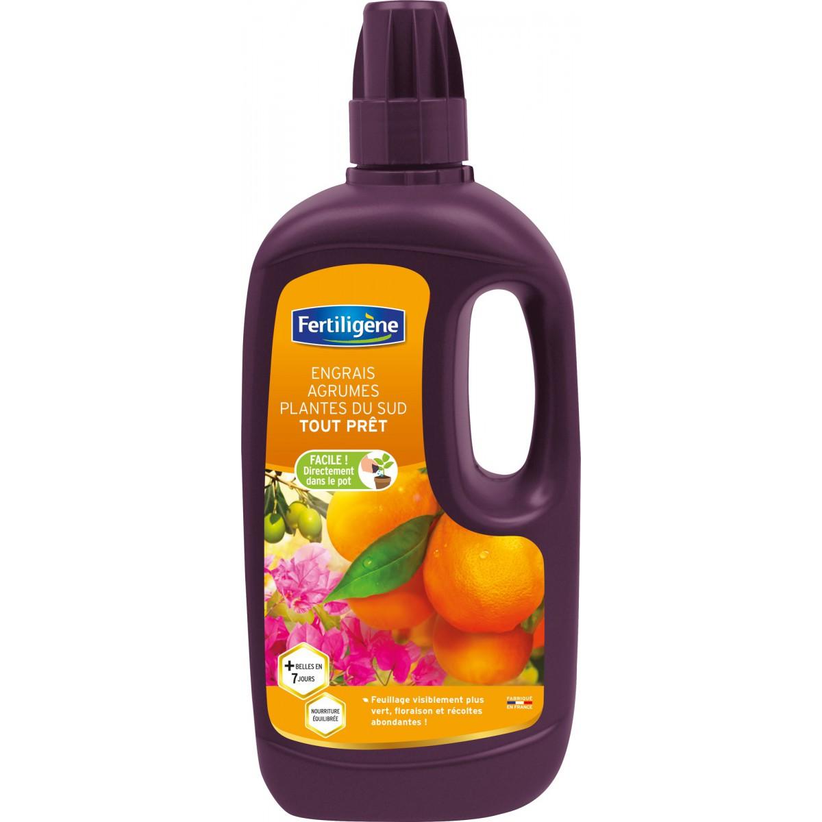 Engrais liquide agrumes et plantes du Sud Fertiligène - 1 l