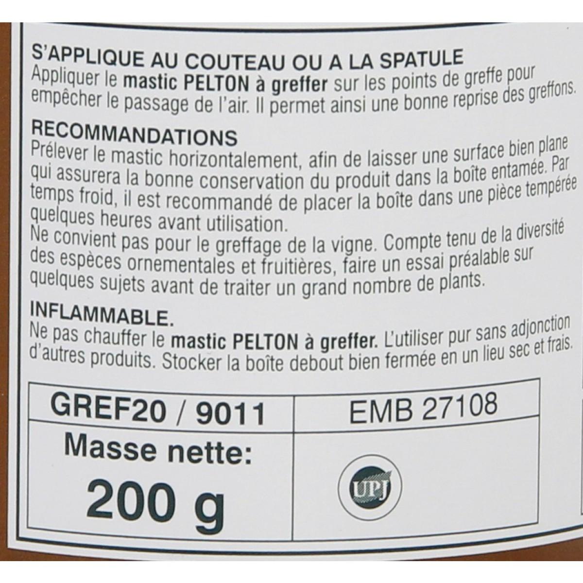 Mastic à greffer à froid Fertiligène - Boîte 200 g