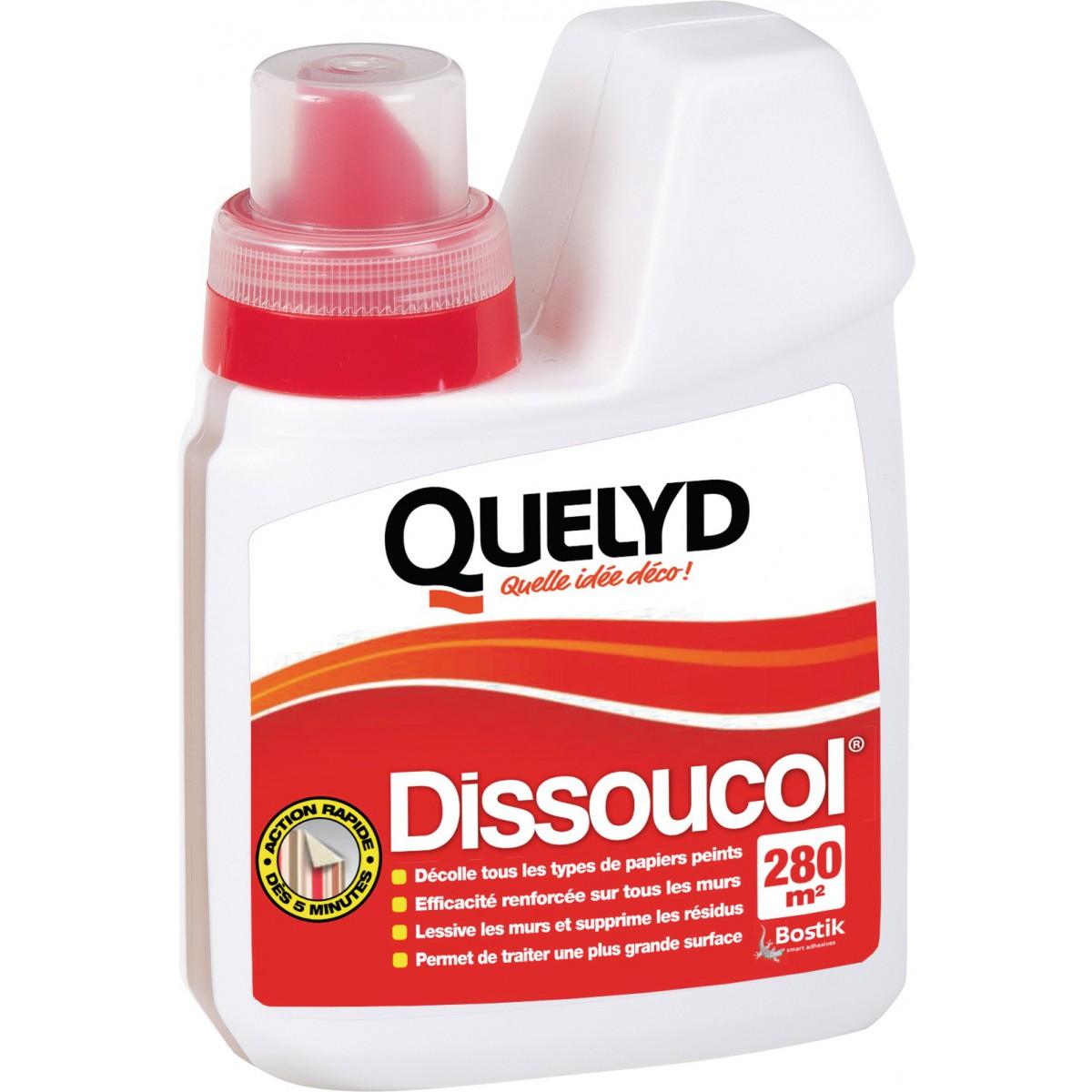 Dissoucol® liquide papier peint Quelyd - Bidon 500 ml