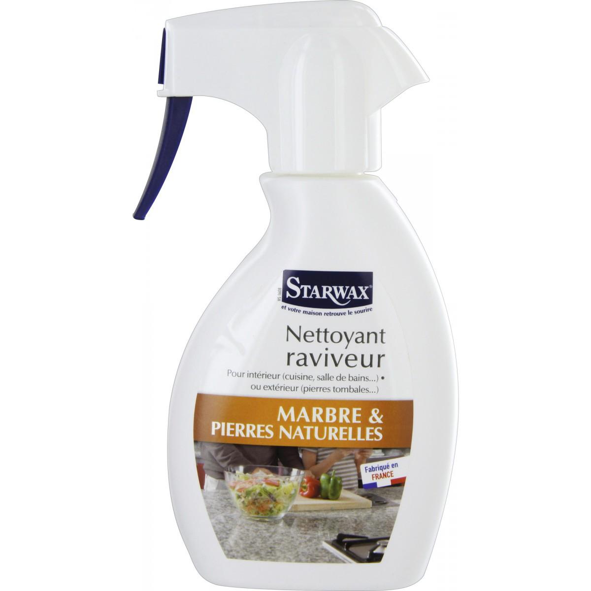 Nettoyant raviveur marbre Starwax - Pulvérisateur 250 ml