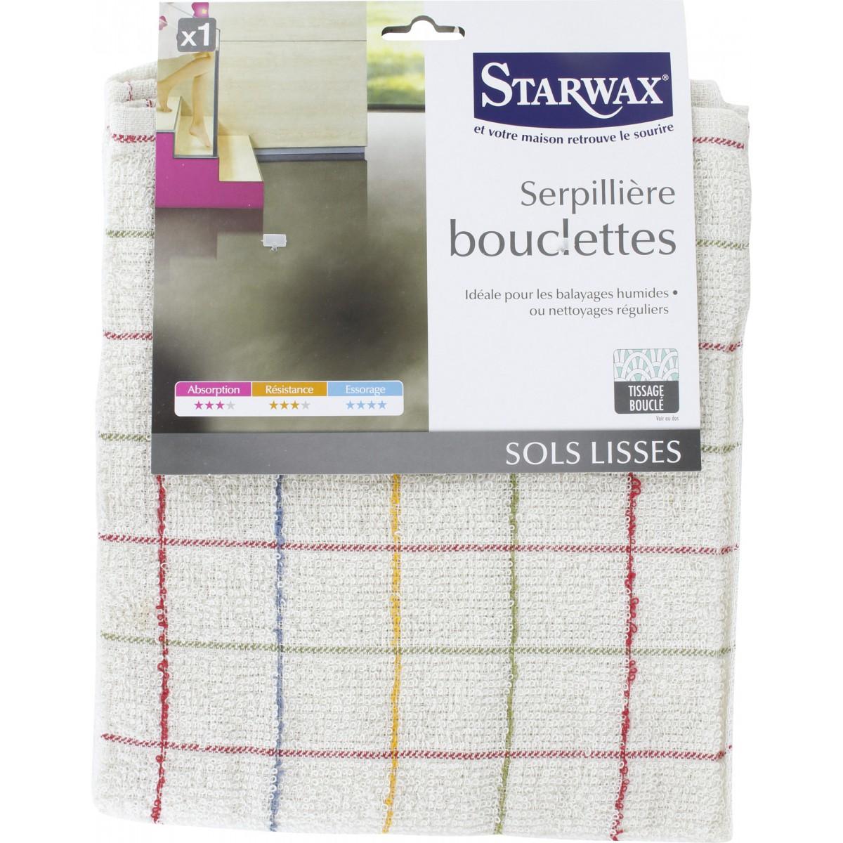Serpillière bouclettes Starwax
