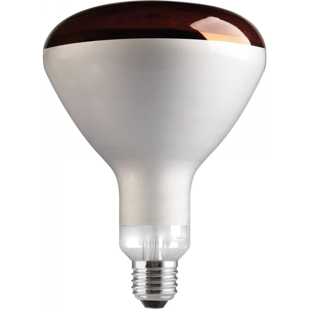 Ampoule réflecteur infrarouge Tungsram - 250 W - E27 - Finition colorée