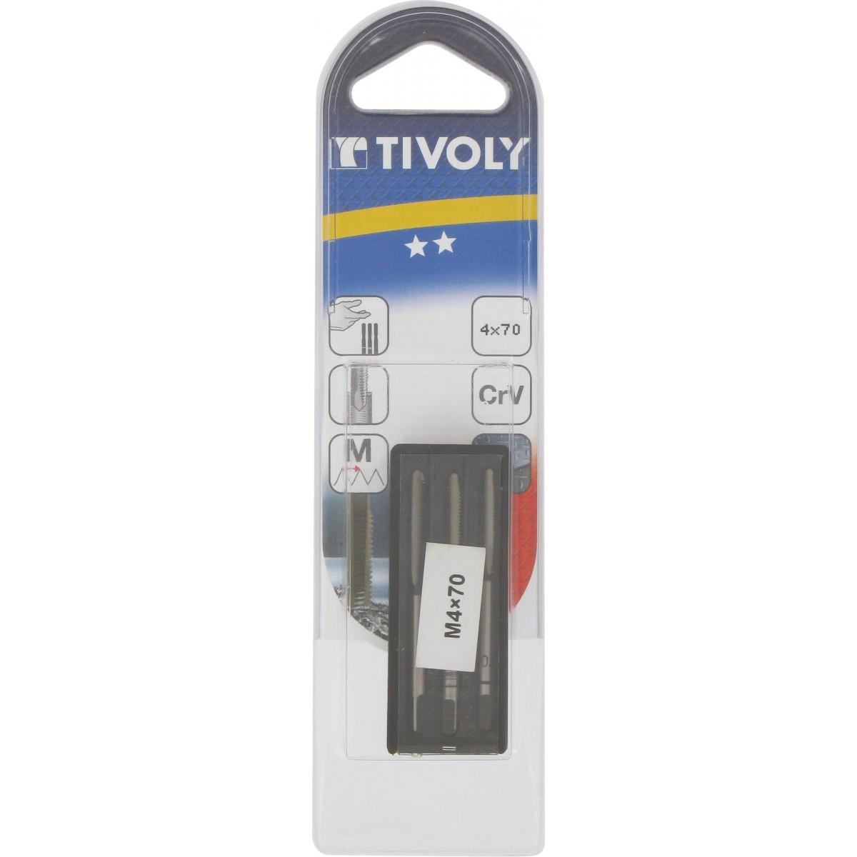 Taraud Tivoly - Diamètre 4 mm