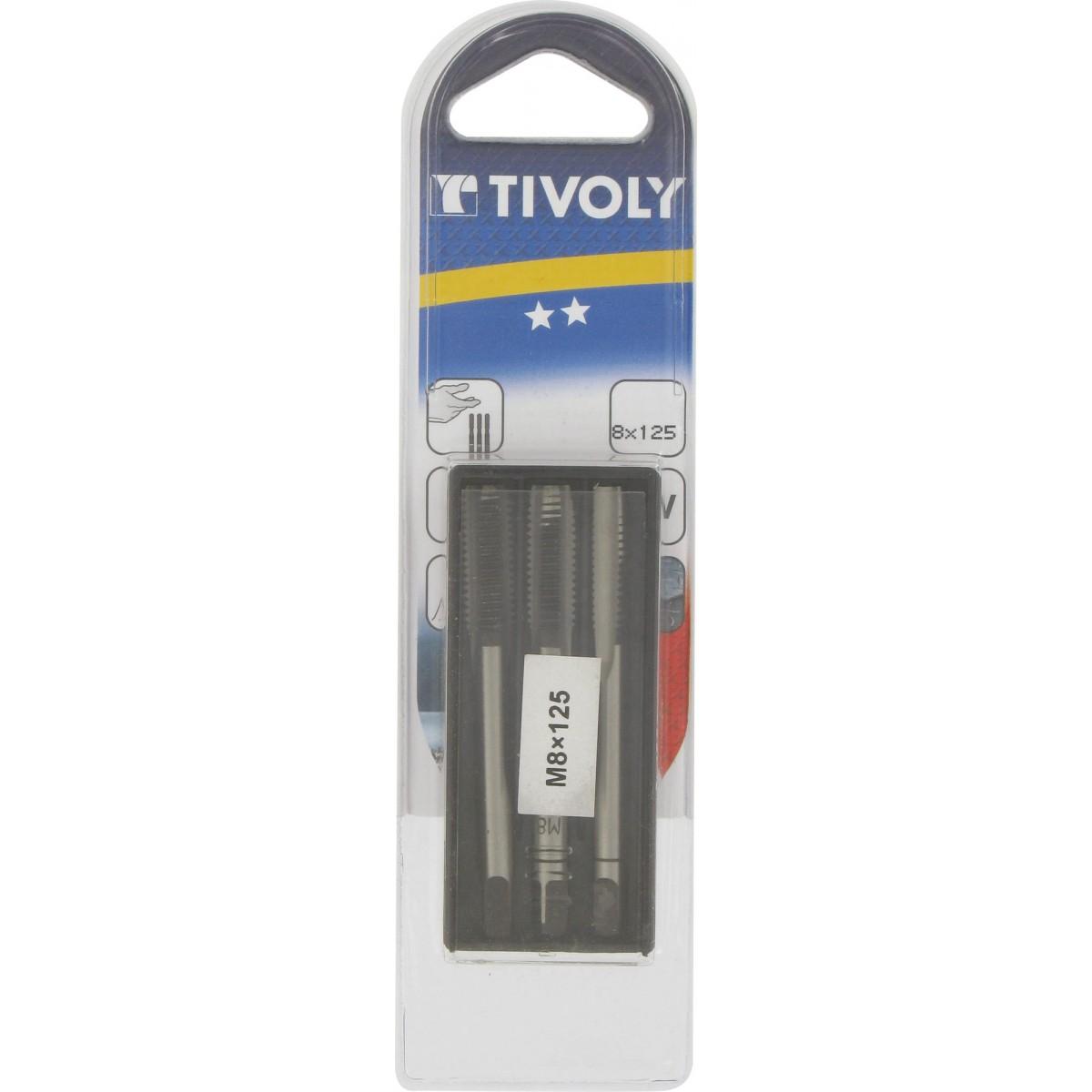 Taraud Tivoly - Diamètre 8 mm