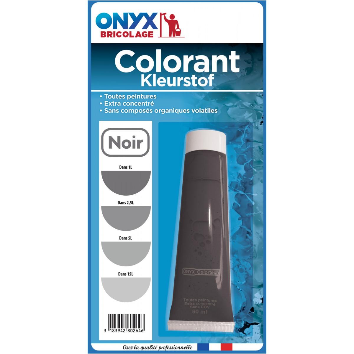 Colorant universel 60 ml Onyx - Noir