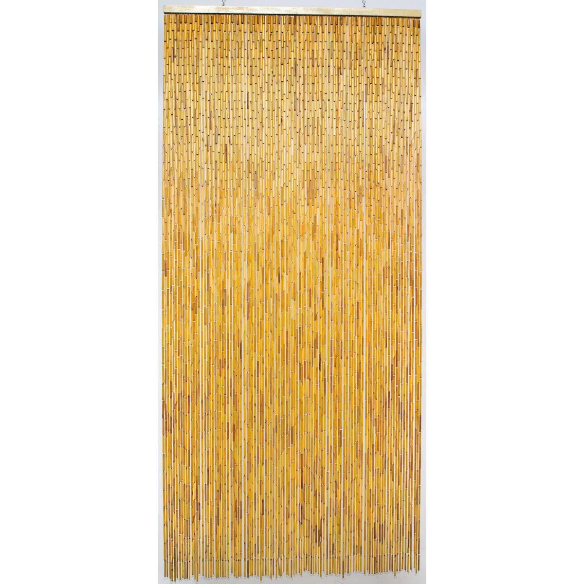 rideau de porte bambou naturel morel 100 x 220 cm de rideau de porte. Black Bedroom Furniture Sets. Home Design Ideas