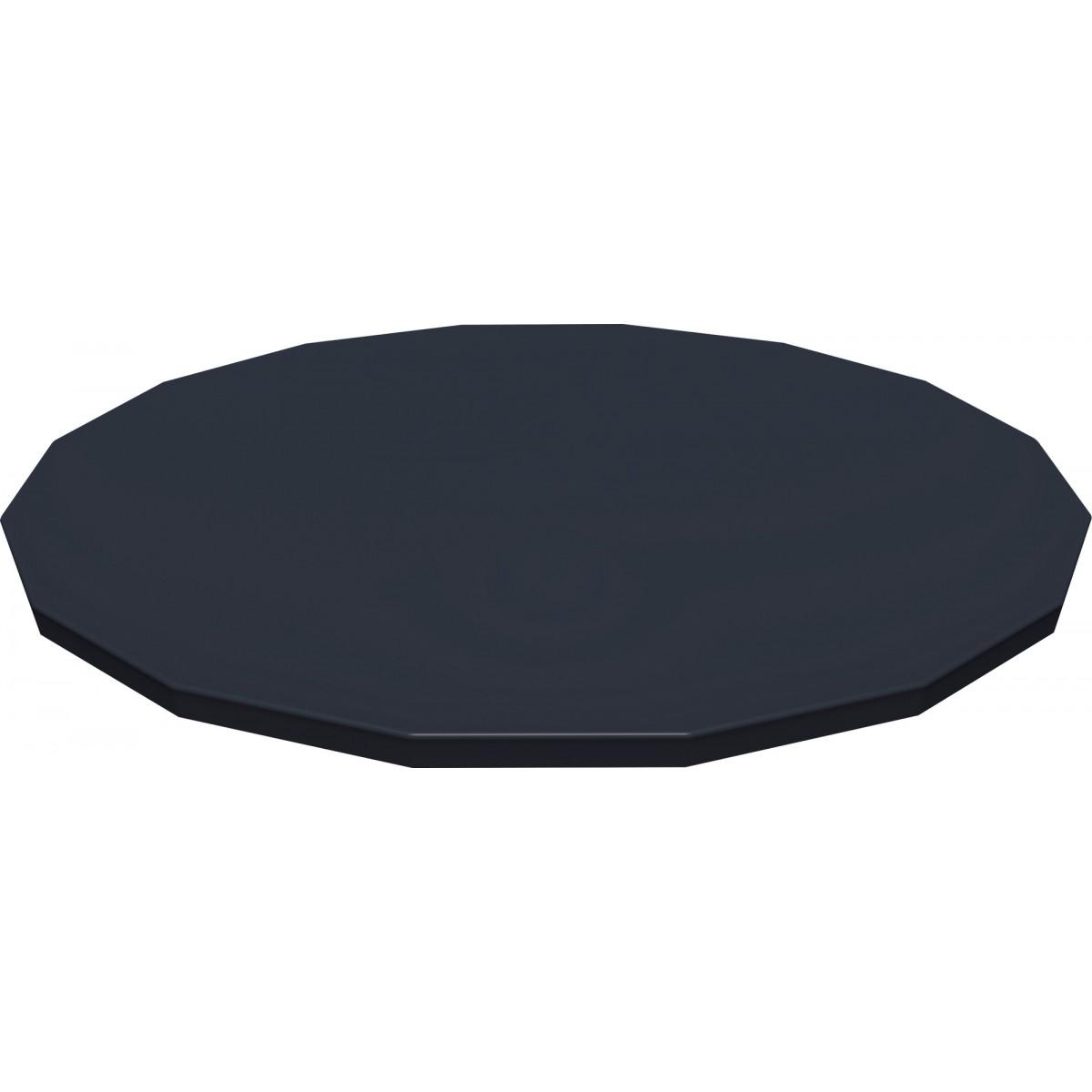 Bâche 4 saisons Power Steel Bestway - Pour piscine ronde de 4,88 m de diamètre