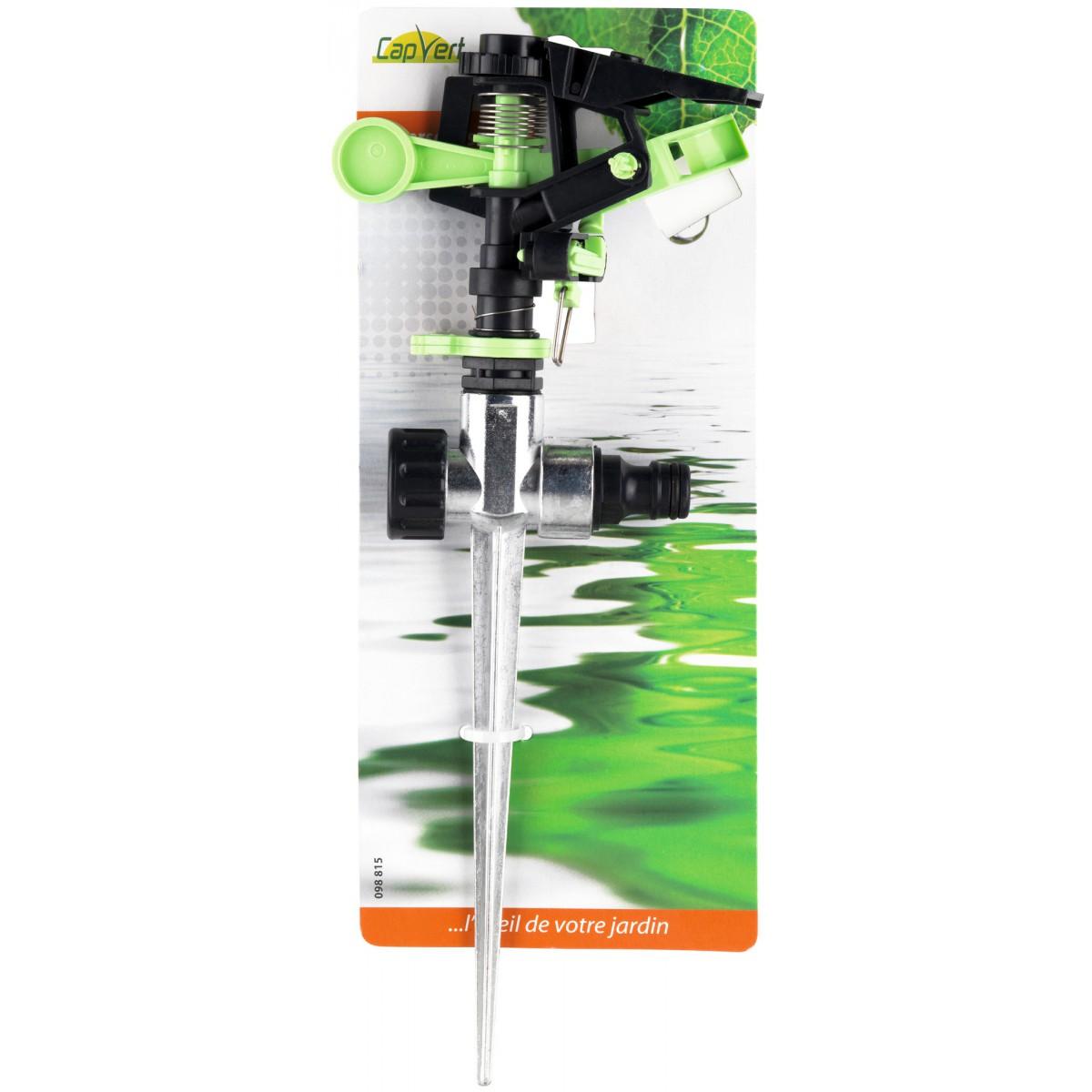 Asperseur plastique sur pique Cap Vert - Raccord rapide