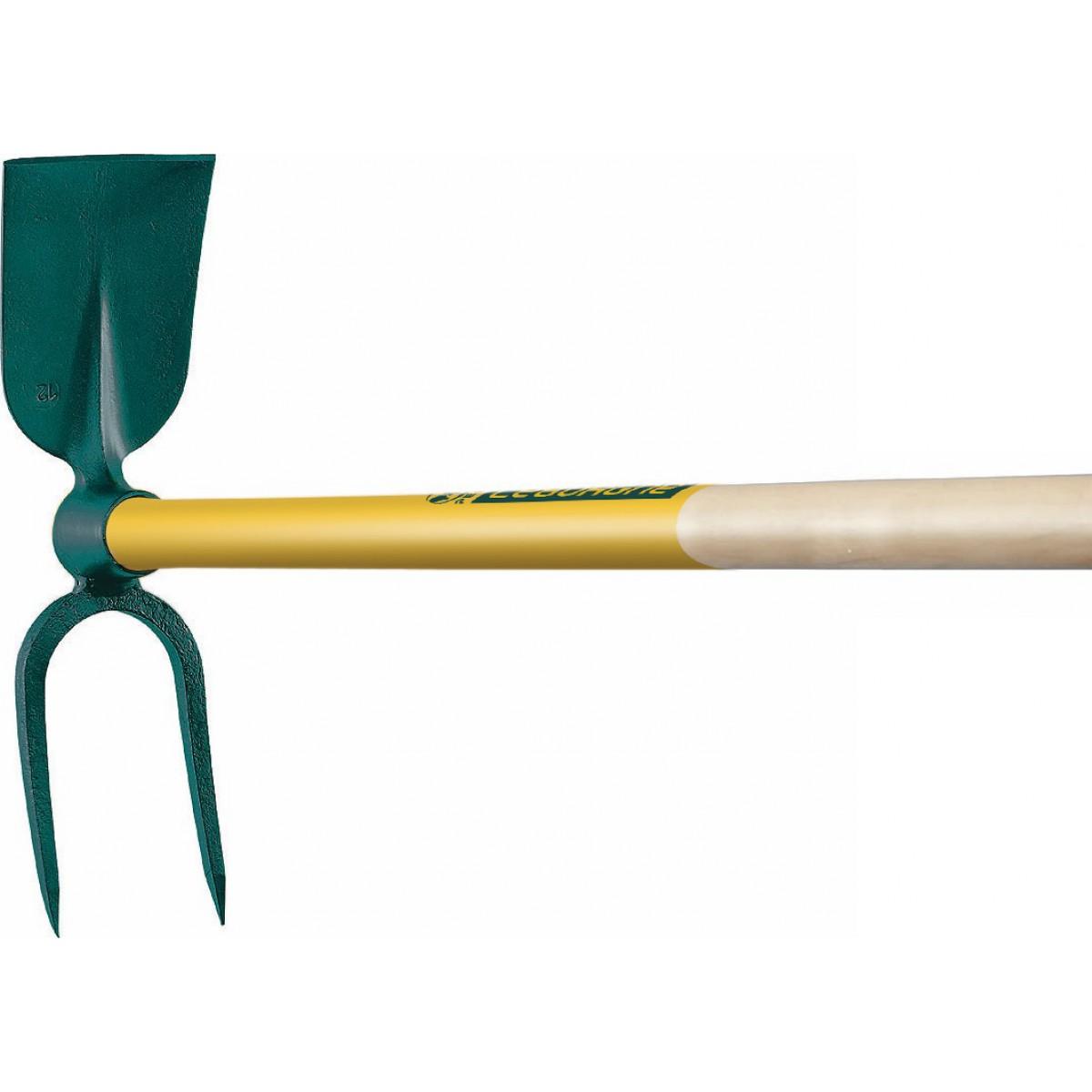 Serfouette panne et fourche à vigne Leborgne - Emmanché 1,10 m