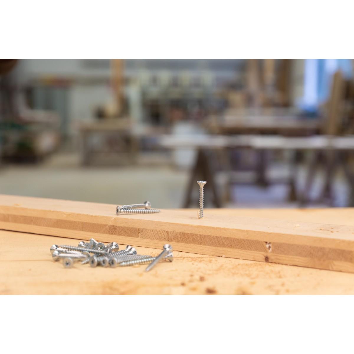 Vis à bois tête fraisée TX - 5x50 - 250pces - Fixpro