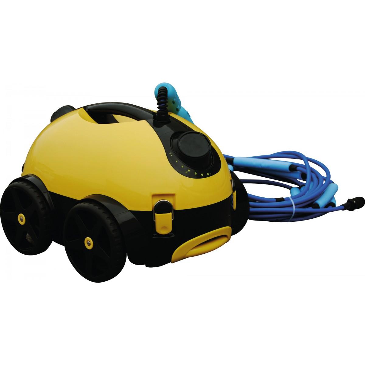 Robot aspirateur de piscine autonome Naia HJ1009 Bestway - Puissance 150 W