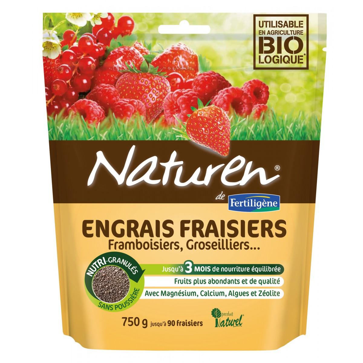 Engrais fraisiers Naturen
