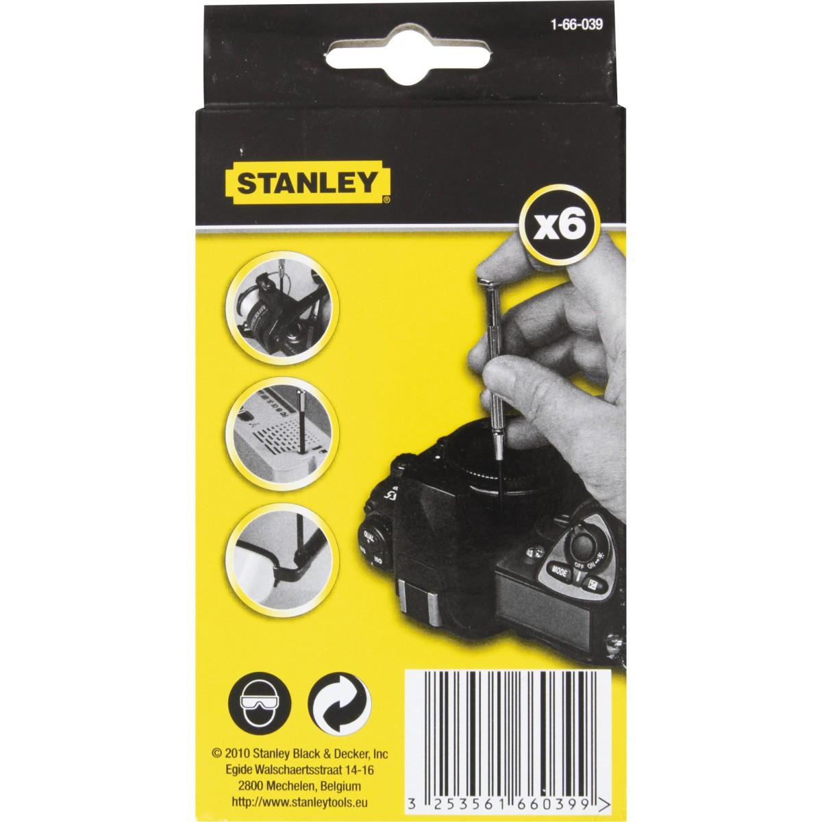 Tournevis horloger Stanley - Vendu par 6
