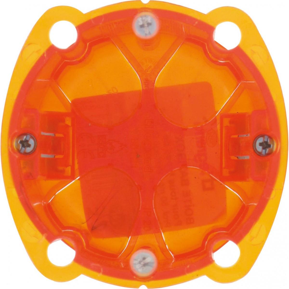 Boîte multimatériaux Legrand - 1 poste - Profondeur 50 mm