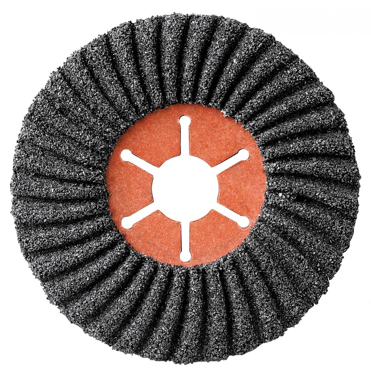 Disque semiflexible carbure de silicium diamètre 115 x 22 mm SCID - Grain 60