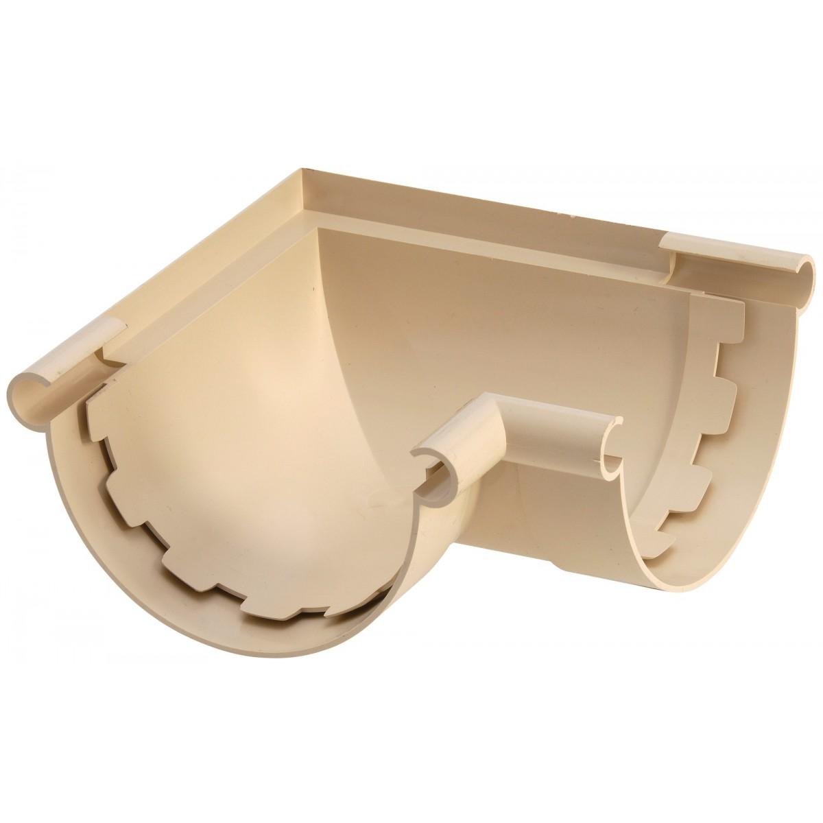 Angle intérieur extérieur - Angle mixte Girpi - Diamètre 25 mm - Sable