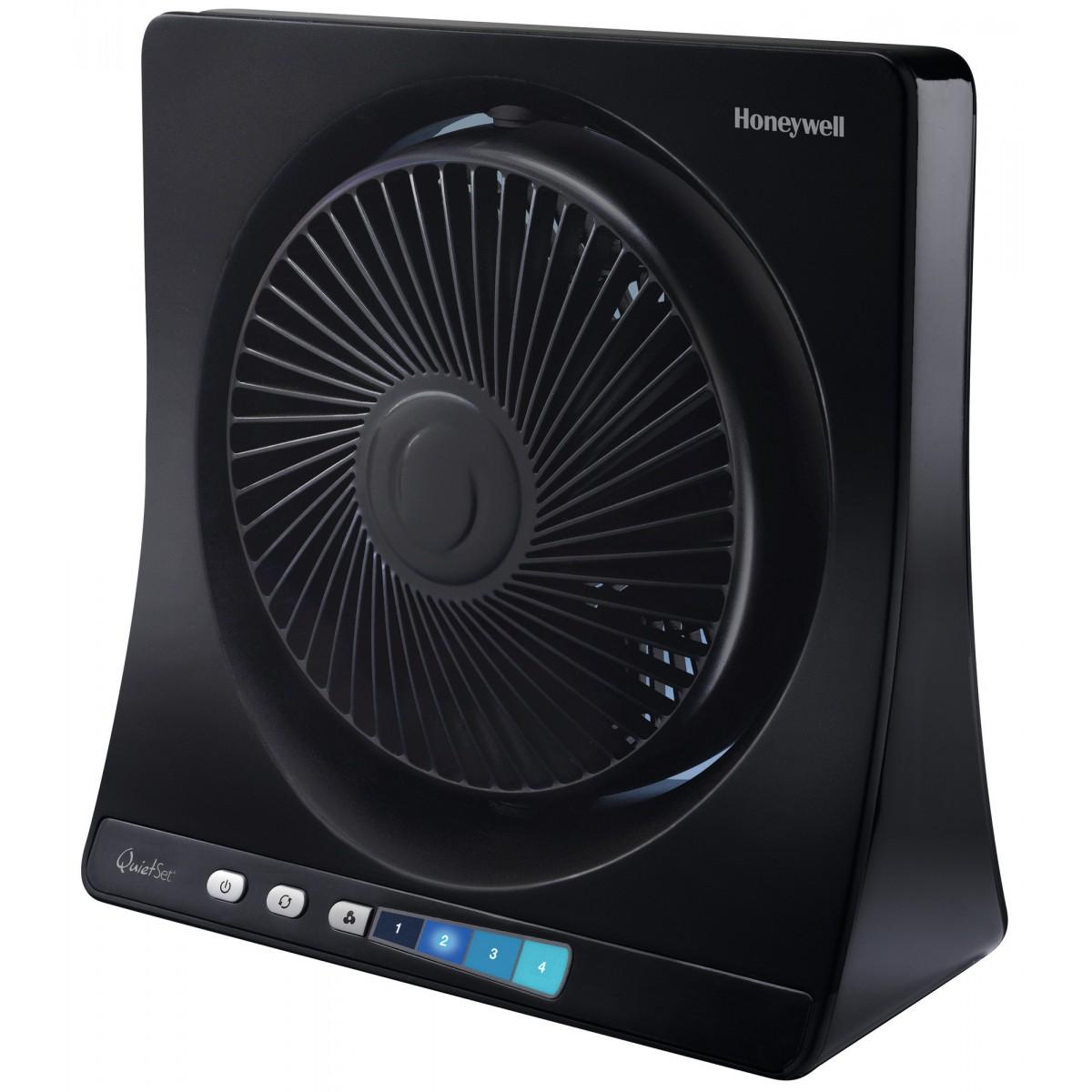 Ventilateur de table Quiet Set® Honeywell - Noir