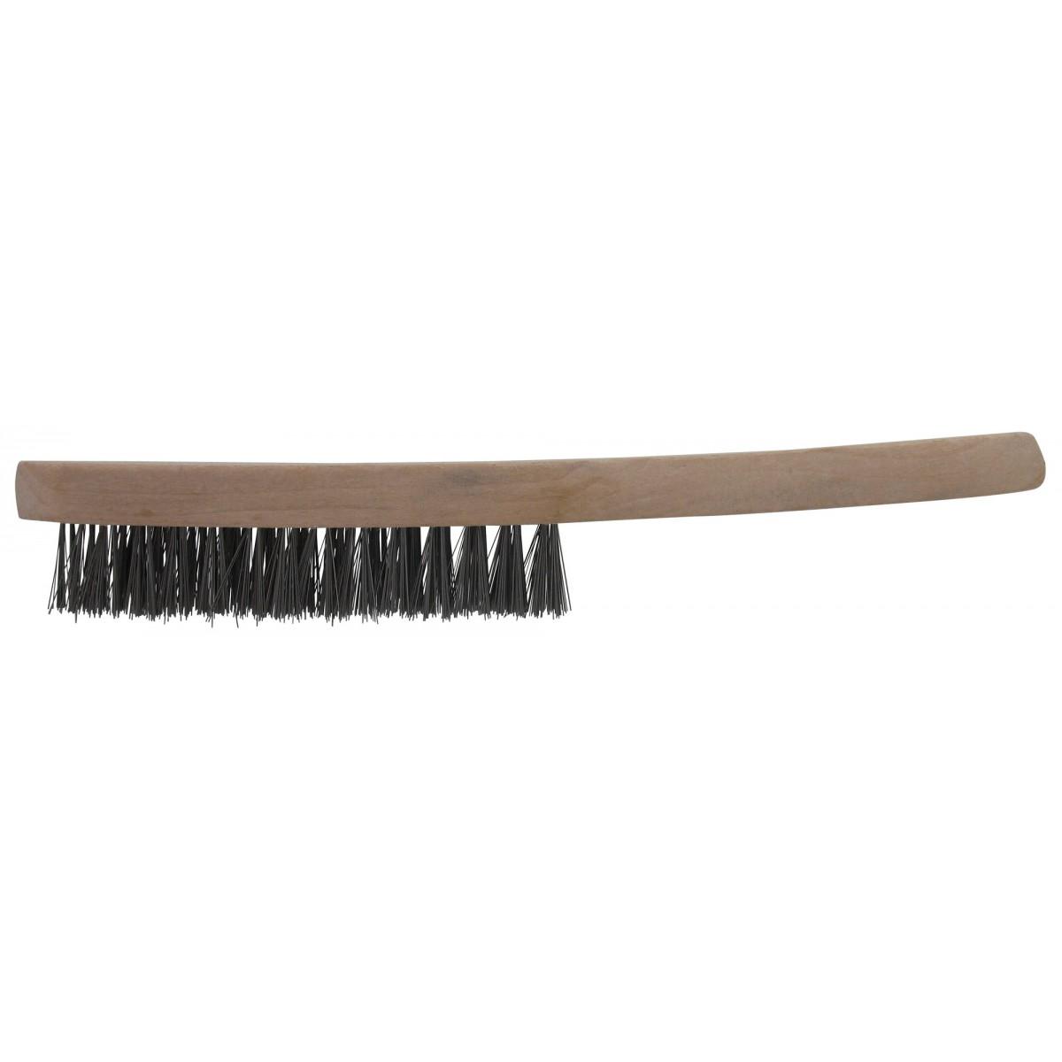 Brosse à manche fils acier SCID - Longueur 24 mm