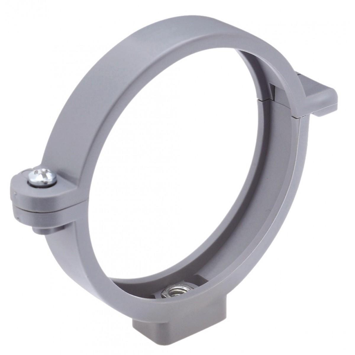 Collier à charnière Girpi - Gris - Diamètre 80 mm