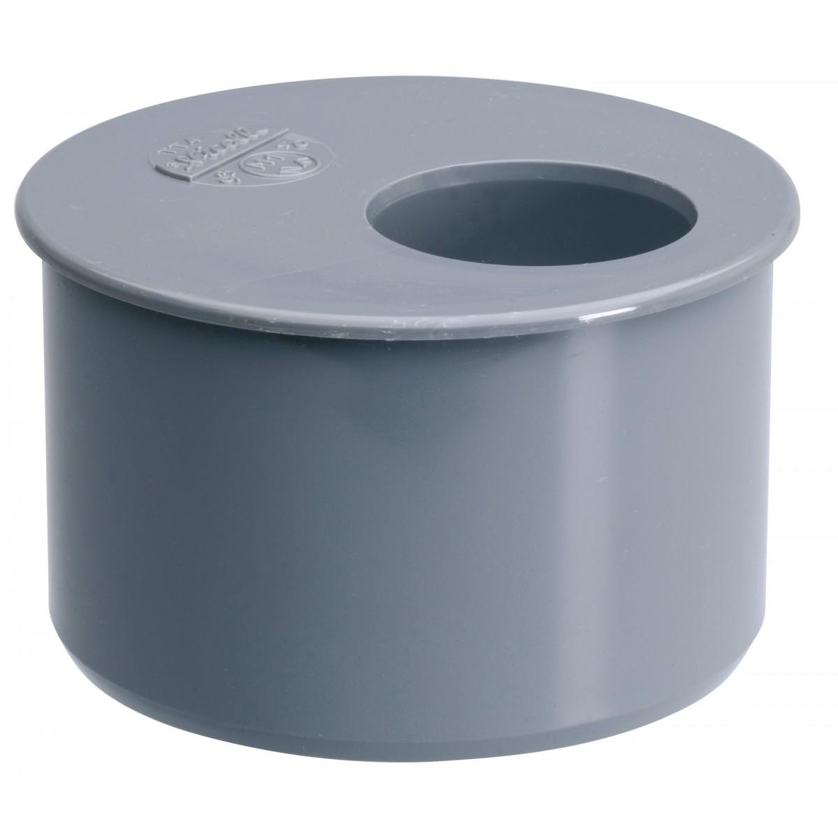 Tampon de réduction 1 piquage Mâle / Femelle Girpi - Diamètre 125 - 100 mm