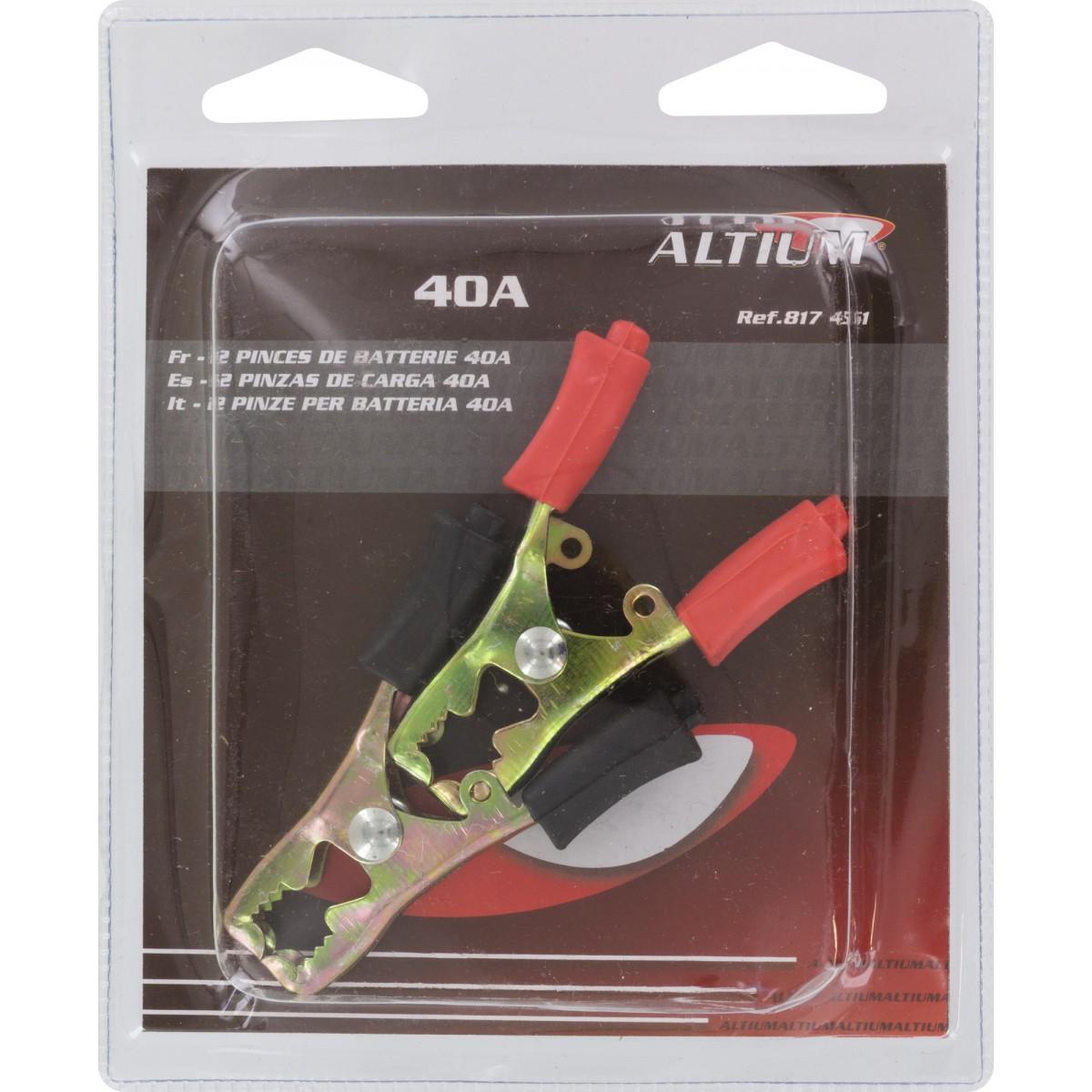 Pince charge Altium - Intensité 40 A - Vendu par 2