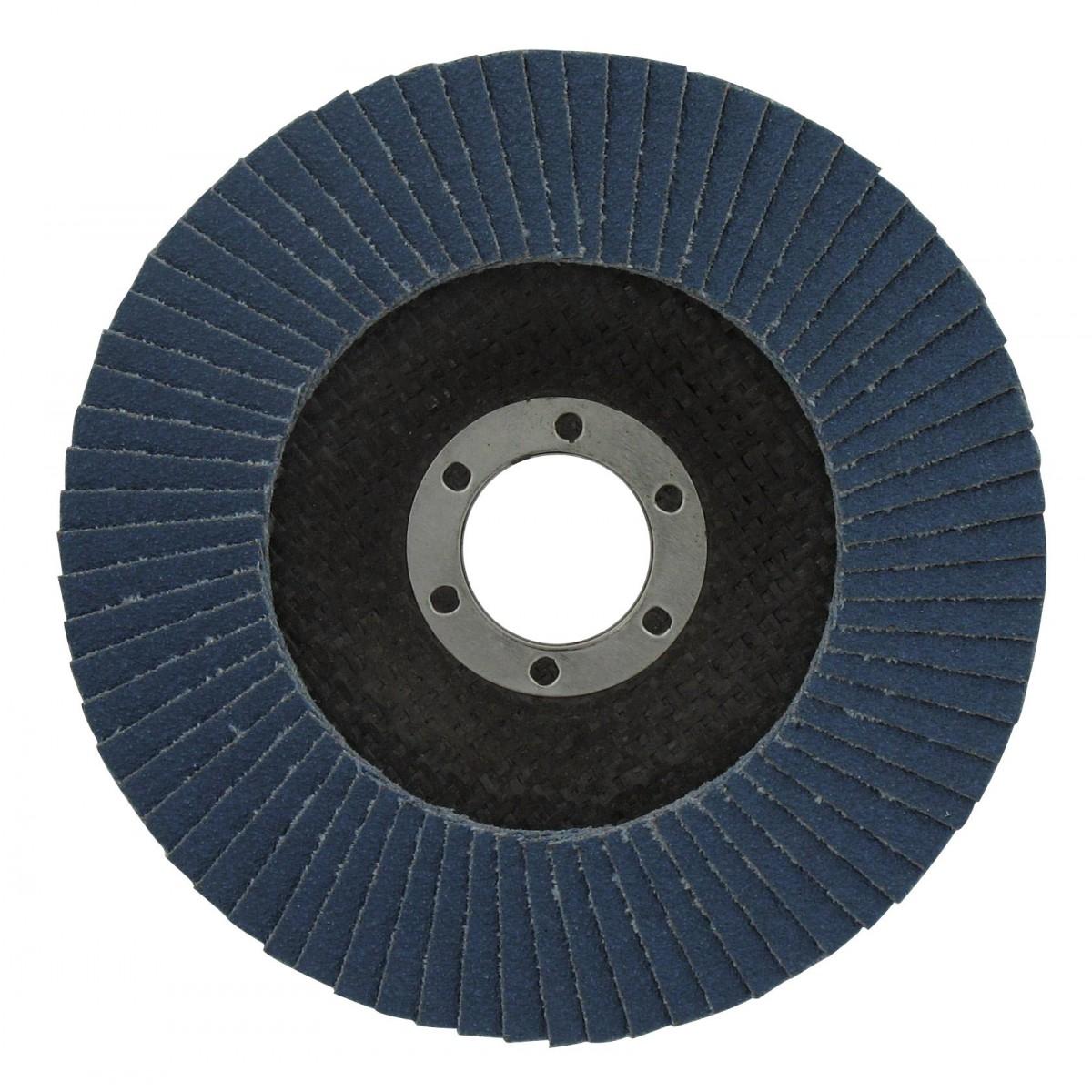 Disque zirconium standard diamètre 125 mm SCID - Grain 40 - Vendu par 1