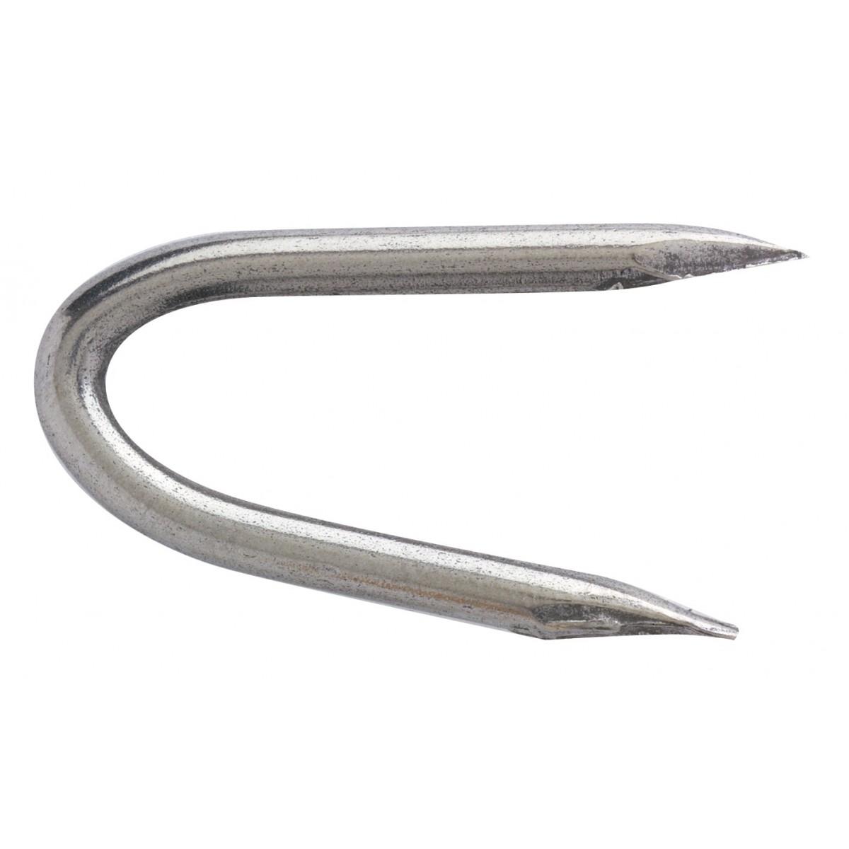Crampillon clair acier ordinaire TE. Pointes - Longueur 27 mm - Diamètre 2,7 mm - 5 kg