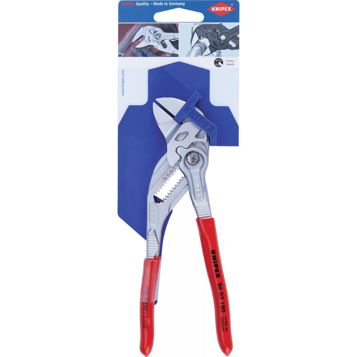 Pince multiprise clé Knipex - Longueur 180 mm