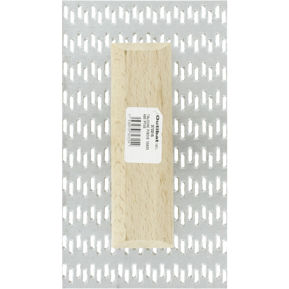 Taloche à pointes poignée bois Outibat - 480 pointes - Dimensions 15 x 25 cm