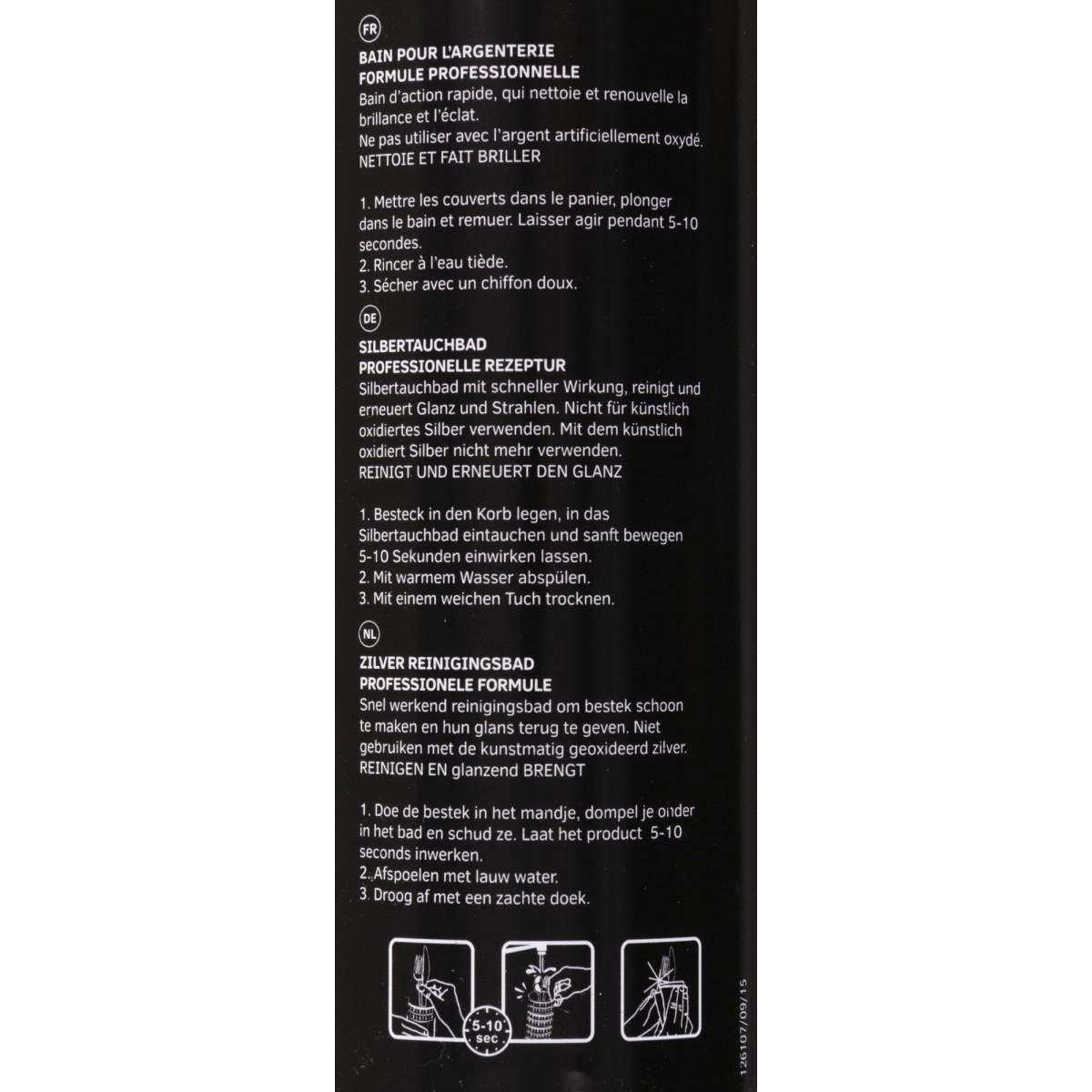 Bain Silver bath pro Hagerty - Flacon 580 ml