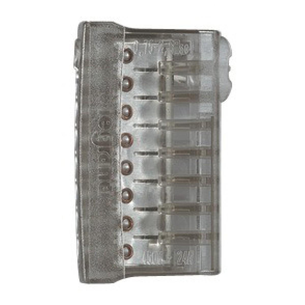 Borne de connexion Nylbloc Legrand - 8 fils horizontaux - Vendu par 3