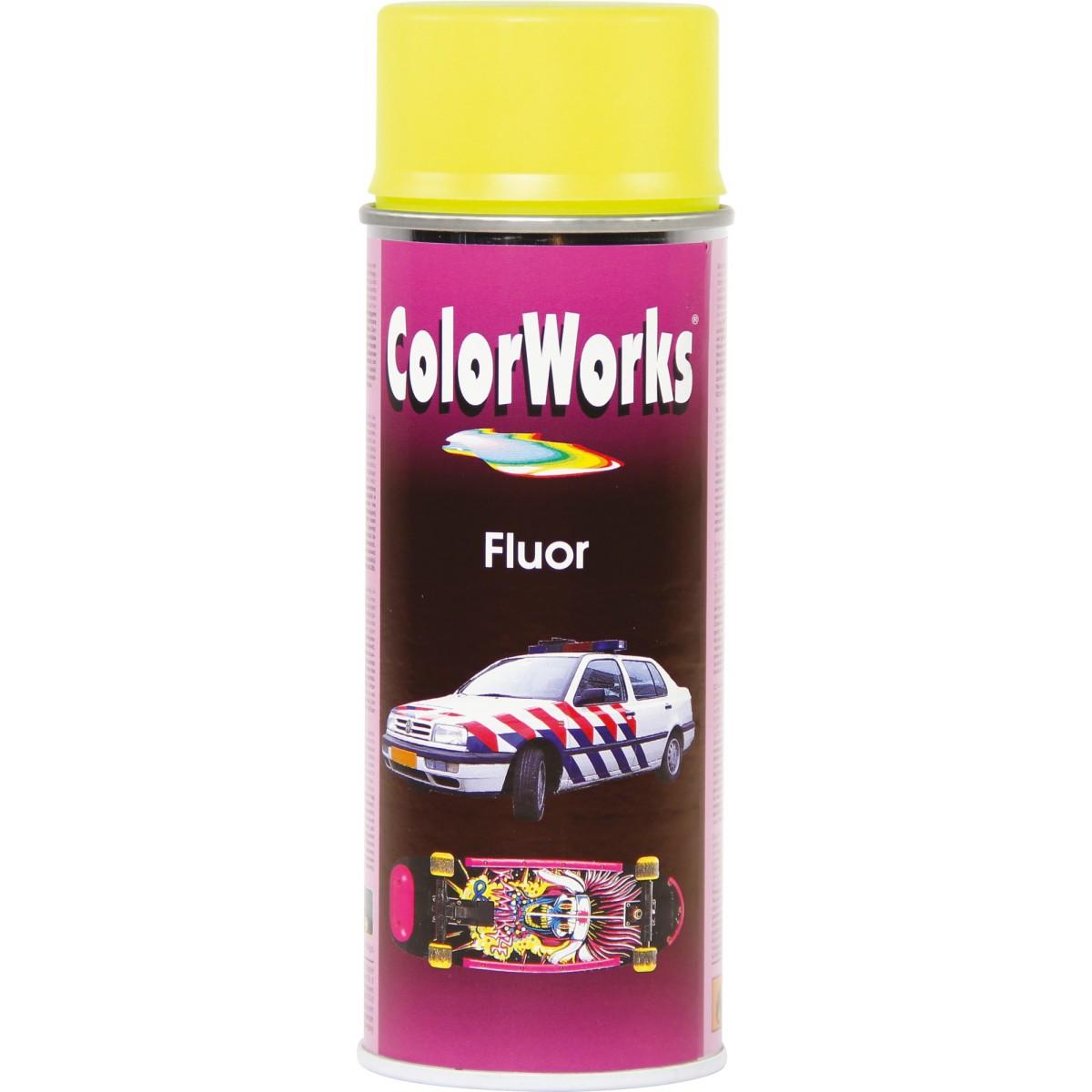 Peinture fluorescente Colorworks - Jaune