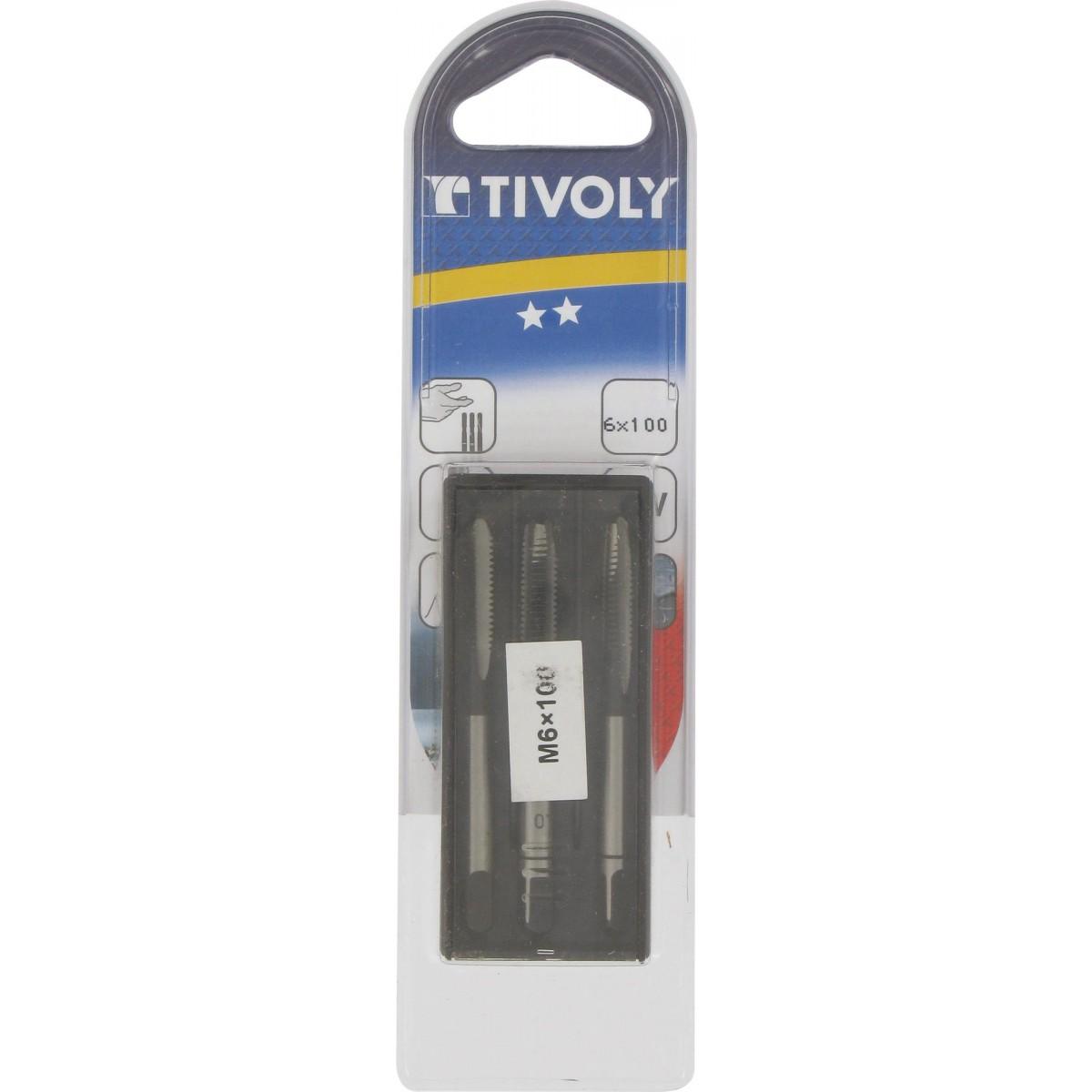 Taraud Tivoly - Diamètre 6 mm