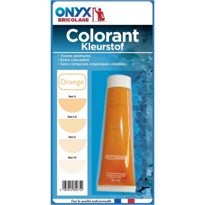 Colorant universel 60 ml Onyx - Orange